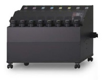 Mimaki TS500P-3200: система подачи чернил для продолжительной работы